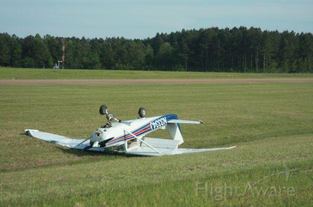 Cessna Skyhawk (N3334J) - Madison, MS not a good day.