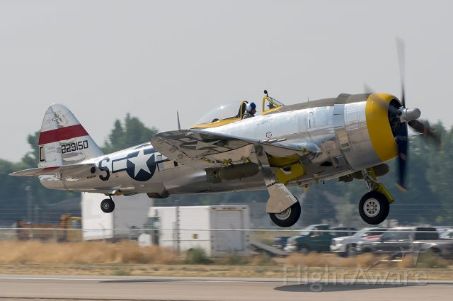 """REPUBLIC Thunderbolt (NX47DM) - """"Dottie Mae"""" being unveiled to the public today for the first time. She crashed in an Austrian lake on May 8th 1945 and in 2005 was pulled out of the lake. 12 years later she became fully restored and airworthy. For the first time in 72 years she flew for the first time for the public today. full Quality Photo --> <a rel=""""nofollow"""" href=""""http://www.airliners.net/photo/Untitled/Republic-P-47D-Thunderbolt/4543475"""">http://www.airliners.net/photo/Untitled/Republic-P-47D-Thunderbolt/4543475</a>"""
