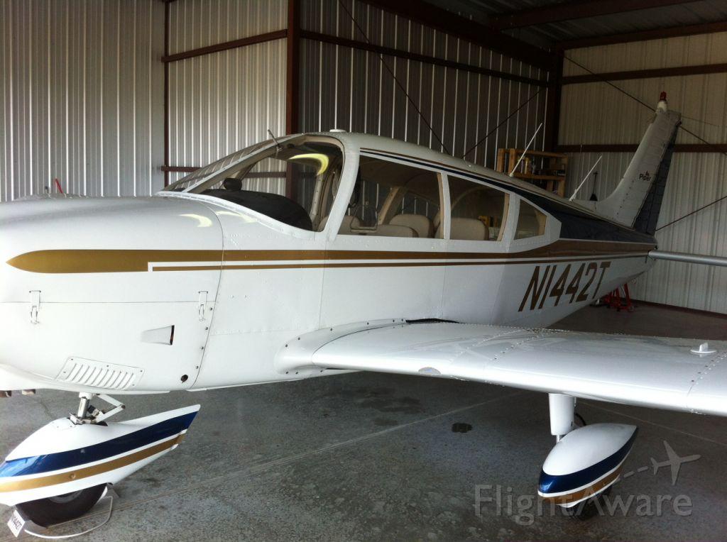 Piper Cherokee (N1442T) - 06/30/12 3412 TT