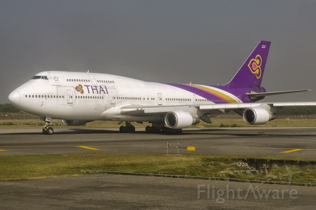 Boeing 747-400 (HS-TGG) - 20th Dec., 2018