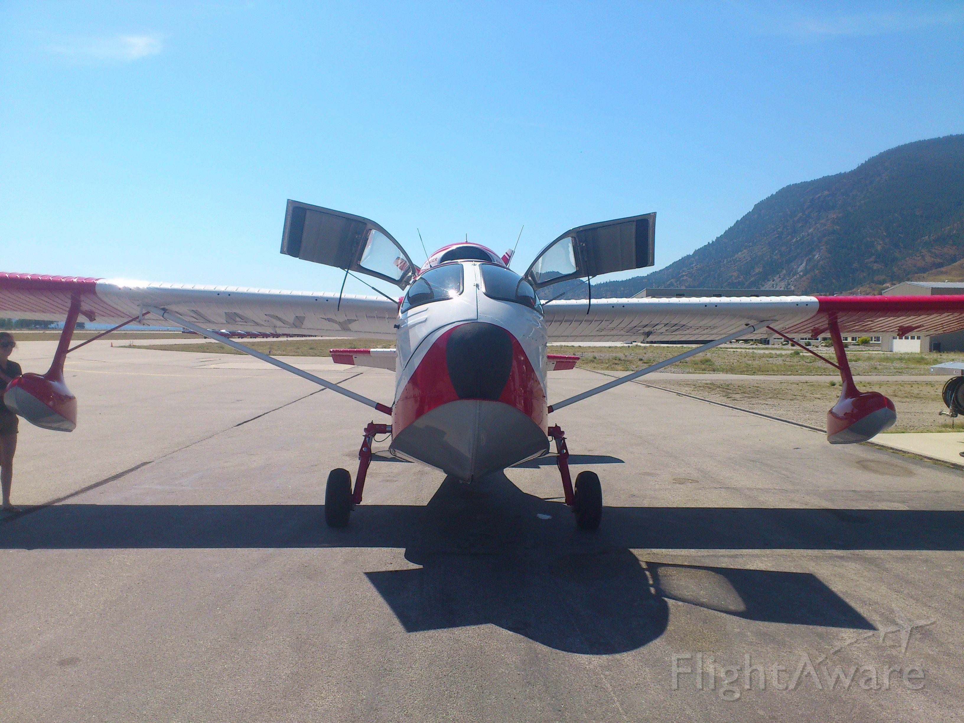 N64PN — - Penticton Airport, Canada CYYF Aug 2013. Republic R-34 Seabee