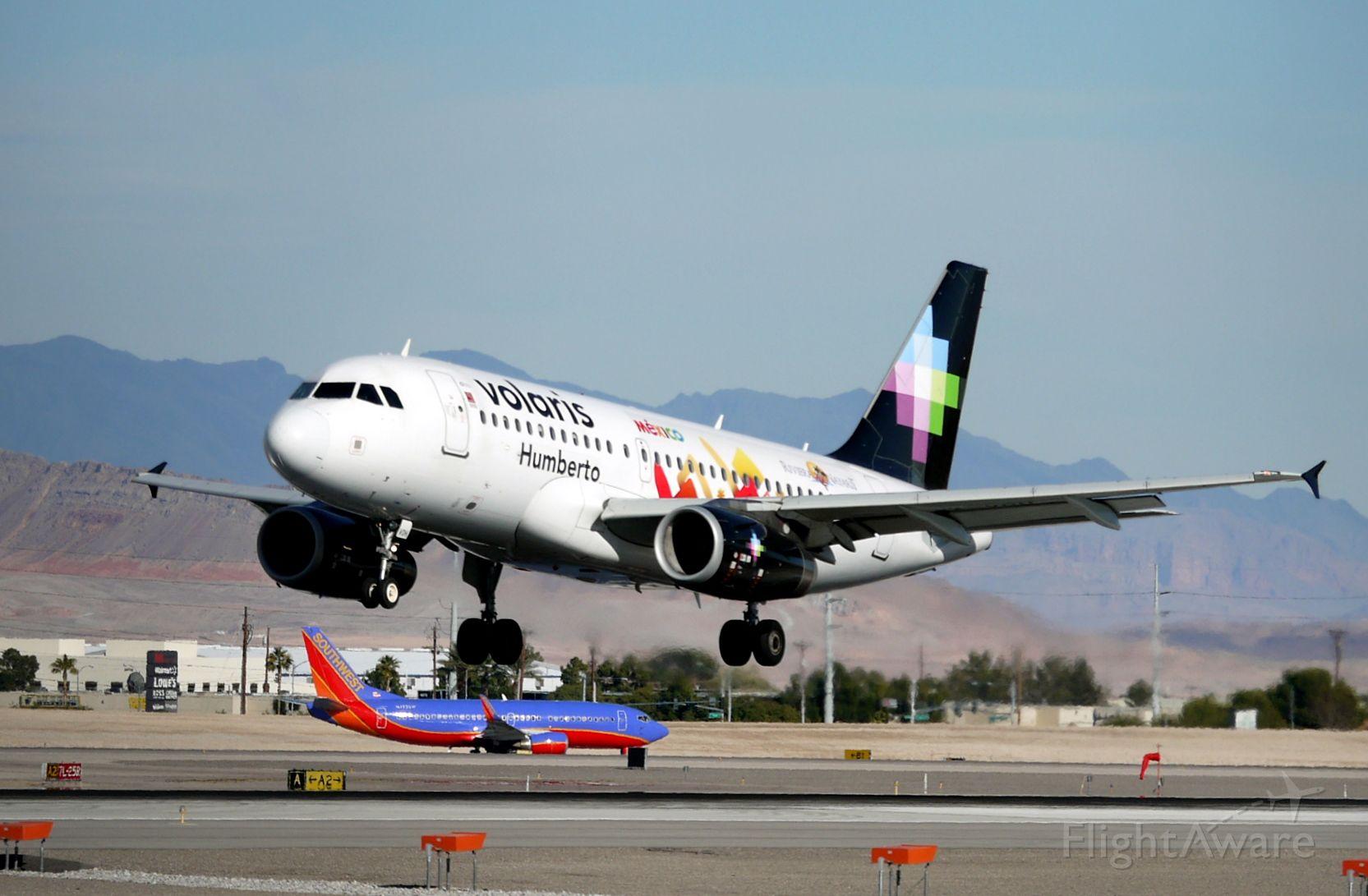 Airbus A319 (XA-VOH)