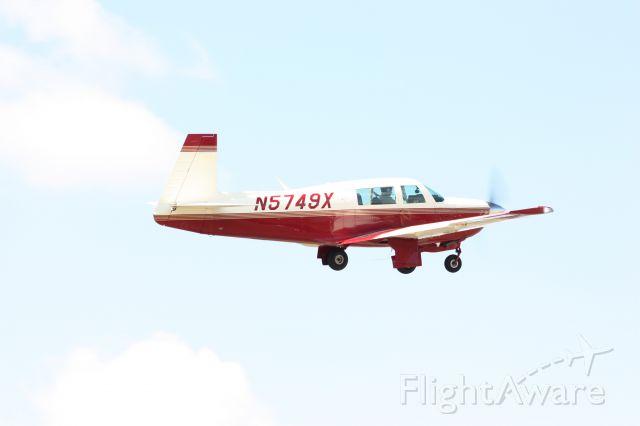Mooney M-20 (N5749X) - Taken 3-29-13