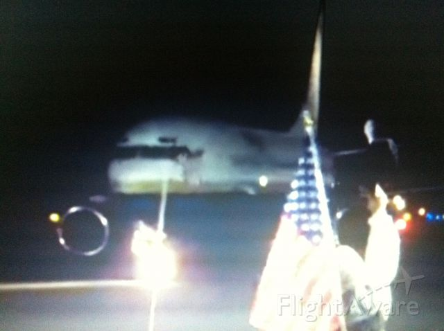 Grumman G-40 Avenger (N742MA) - Flag dropped and ingested in video