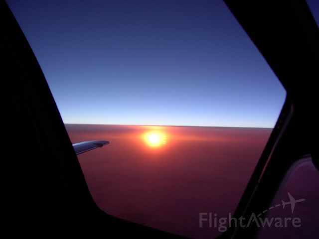 Cessna Citation V (N560TE) - FL410 sunrise
