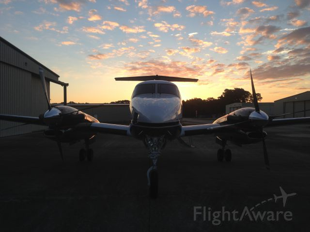 Beechcraft Super King Air 350 (N886AC) - Savannah Sunrise!