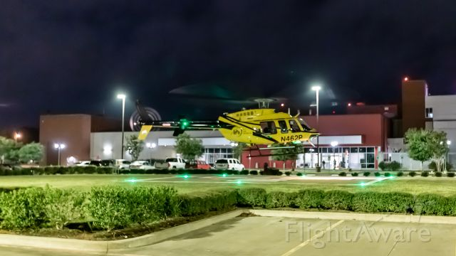 Bell 407 (N462P) - Taking off from Nacogdoches Memorial Hospital in Nacogdoches, TX