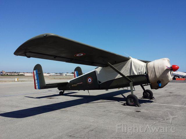 De Havilland Canada DHC-2 Mk1 Beaver (N315XC) - Unique visitor to KTOA Max Holste MH-1521 Broussard