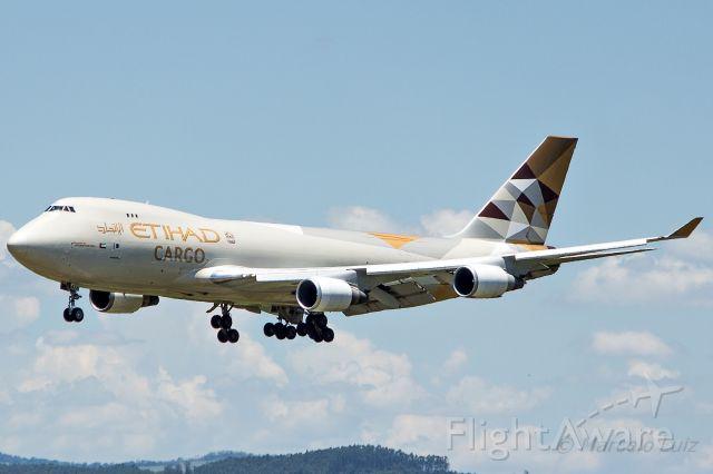 Boeing 747-200 (N476MC) - Etihad Cargo (Operated by Atlas Air) - Boeing 747-47UF(SCD)br /Registration: N476MCbr /br /Miami (MIA) / Campinas (VCP)br /br /Foto tirada em: 26/12/2016 br /Fotografia: Marcelo Luiz