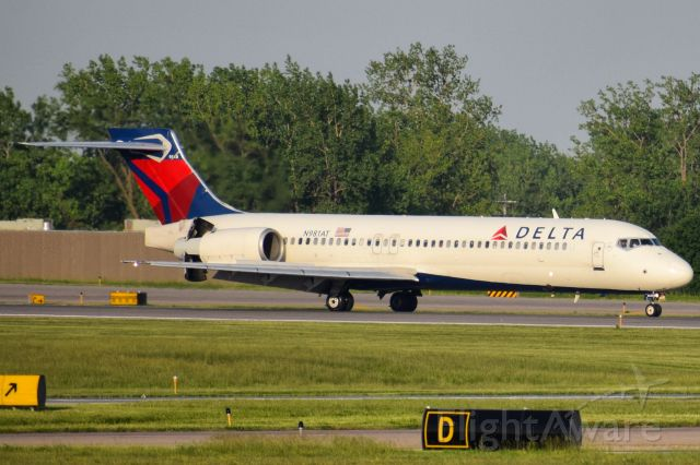 Boeing 717-200 (N981AT) - Boeing 717-2BD opby Delta Air Lines<br />Formerly opby AirTran from 2002 - 2013<br /><br />A/C type has replaced MD88/MD90 on the Buffalo Niagara International Airport to/from Hartsfield-Jackson Atlanta International Airport route for Summer 2020