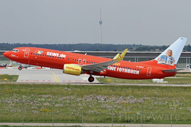 """Boeing 737-800 (D-AHFZ) - """"CEWE Fotobuck"""" livery"""