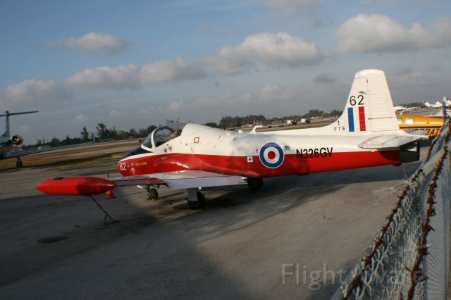 HUNTING PERCIVAL P-84 Jet Provost (N326GV)