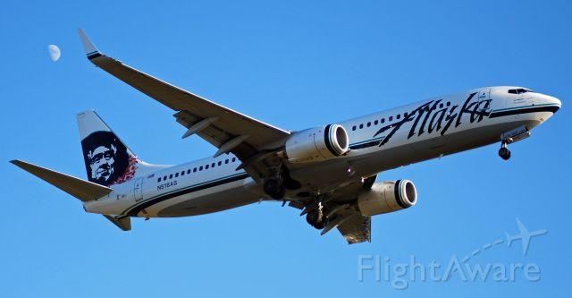 Boeing 737-800 (N518AS) - Alaska Airlines Boeing 737-890 on final for Portland International Airprot