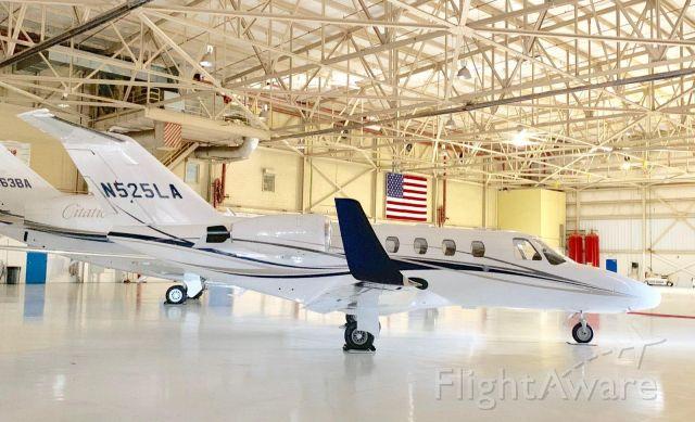 CORBY Starlet (N525LA) - Wilson Air Hangar