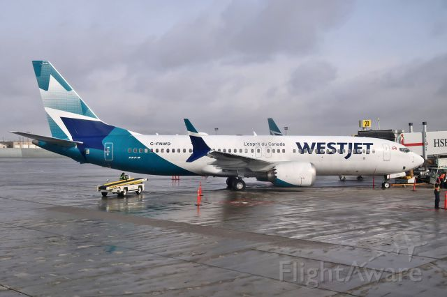 Boeing 737 MAX 8 (C-FNWD)
