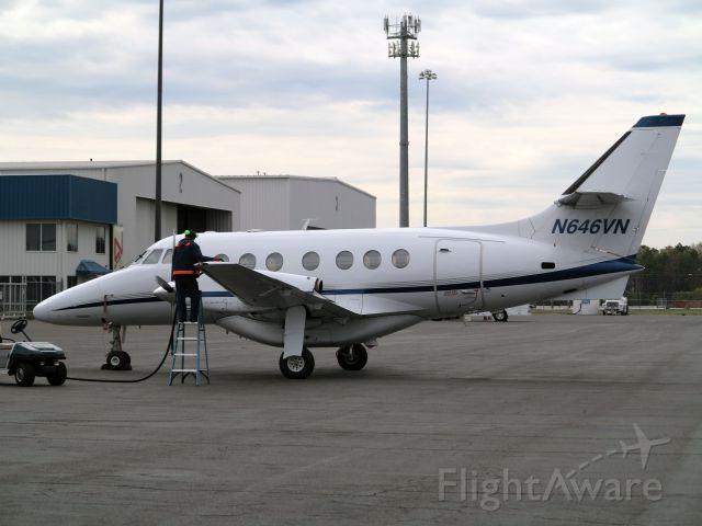 JETSTREAM Jetstream 41 (N646VN) - Friendly and efficient service at MIDLANTIC JET AVIATION @ KACY.
