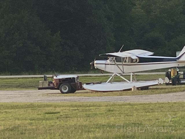 Piper L-21 Super Cub — - Out for maintenance