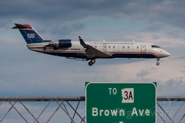 Canadair Regional Jet CRJ-200 (N418AW) - Still in the old US Airways livery