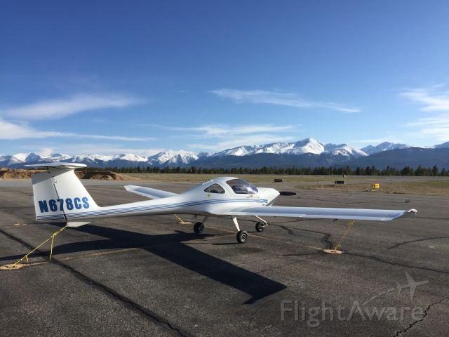 Diamond DV-20 Katana (N678CS) - Cross US Trip - Lake County Airport Colorado - 9,927