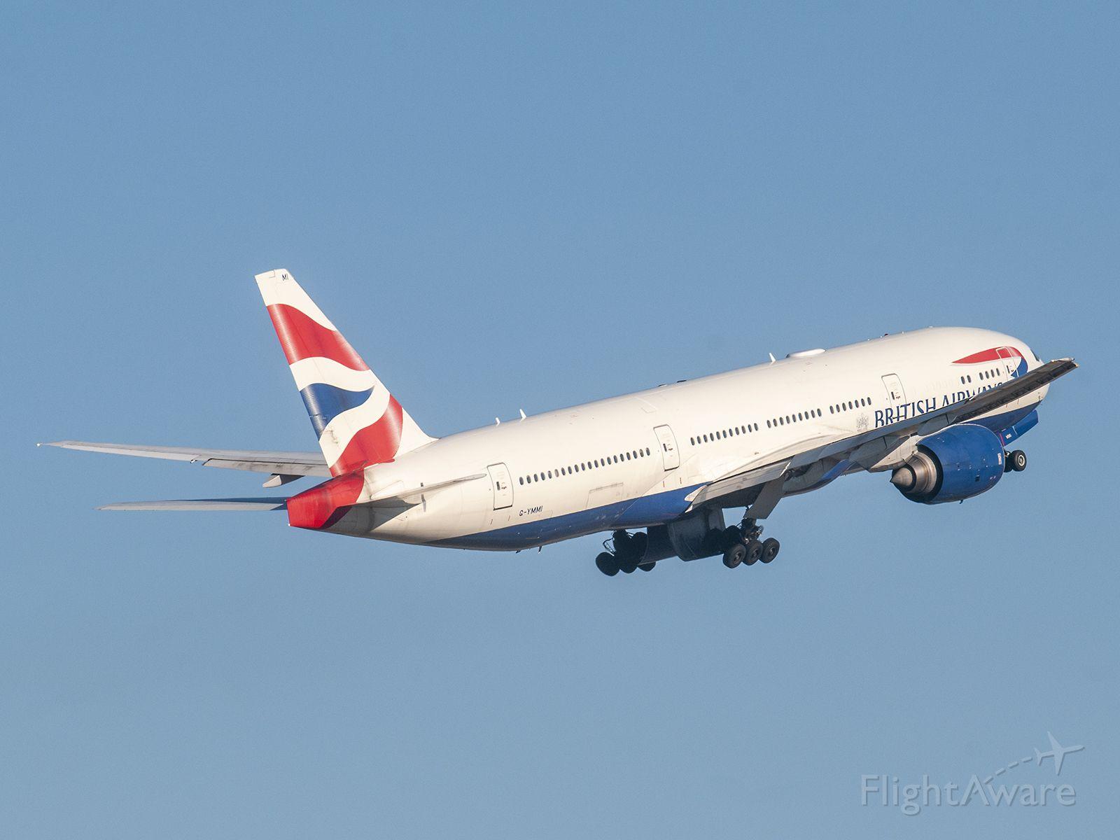 Boeing 777-200 (G-YMMI) - 2/14/2020