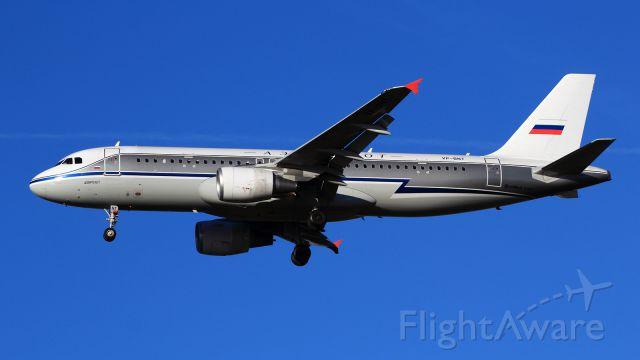 Airbus A320 (VP-BNT) - Aeroflot Retro