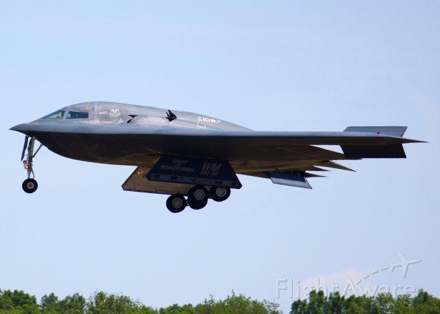 Northrop Spirit (93-1087) - At Barksdale Air Force Base.