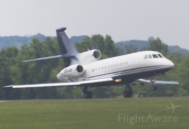 Dassault Falcon 900 (N900MF) - one impressive take off