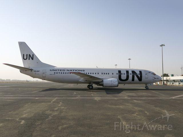 BOEING 737-400 (VQ-BIF) - 1 DEC 2015