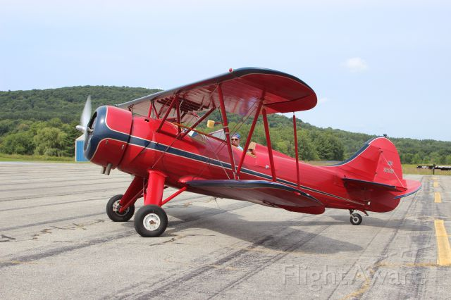 N32112 — - 1941 WACO UPF-7 WACO AIR LLC WOLFEBORO, NEW HAMPSHIRE <br />KDDH William H. Morse State Airport (Bennington, VT)<br />Photo taken by Christopher Wright