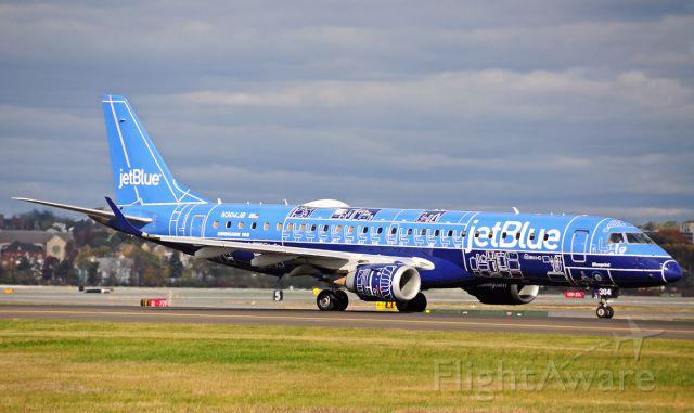 Embraer ERJ-190 (N304JB) - Blueprint Special livery