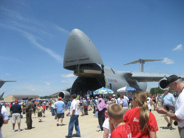Lockheed C-5 Galaxy — - C-5 Galaxy on display at the Joint Services Open House 2011 held on Andrews Air Force Base.