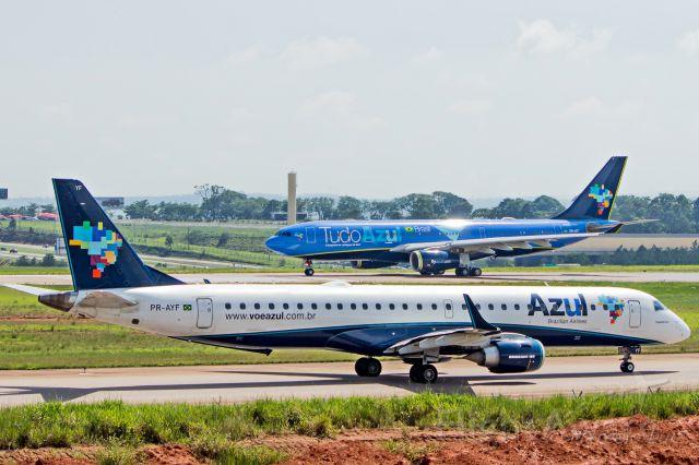 Embraer ERJ-190 (PR-AYF) - Azul Linhas Aereas - Embraer ERJ-195AR <br />Registration: PR-AYF<br /><br />Campinas (VCP) / Rio de Janeiro (SDU)<br /><br />Fotografia: Marcelo Luiz