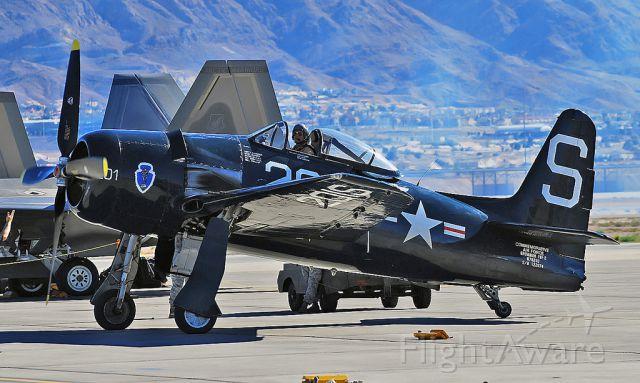 N7825C — - Commemorative Air Force Grumman F8F-2 Bearcat (G-58) N7825C / 122674/S-201 (cn D.1227) Nellis Air Force Base Aviation Nation 2010 TDelCoro