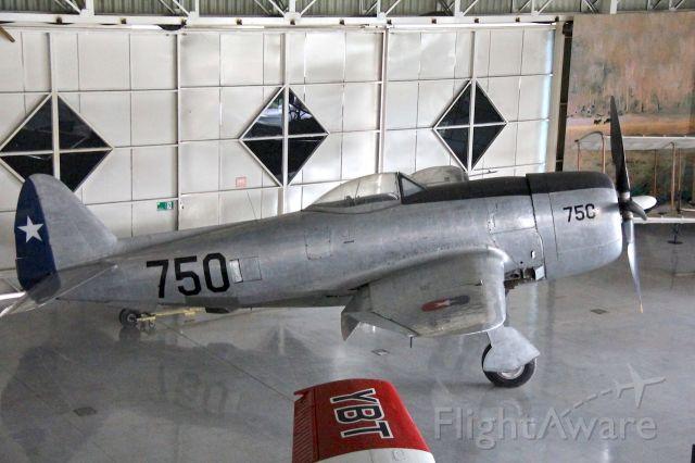 — — - Republic P-47D-RA Thunderbolt.br /Museo Nacional Aeronautico y del Espacio.br /Santiago, Chilebr /Photo: 04.04.2016