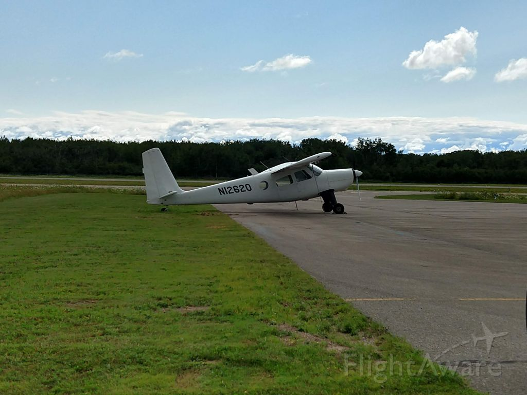 HELIO U-10 Super Courier (N12620) - Picture taken August of 2020