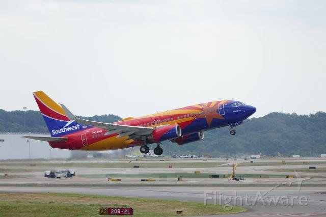 Boeing 737-700 (N955SW) - Arizona One departing from runway 20R.
