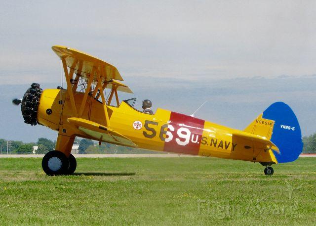 Boeing PT-17 Kaydet (N56914) - At AirVenture.