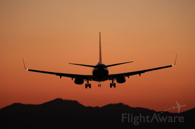 Boeing 737-800 (JA77AN) - April 20th 2021:HND-HKD.