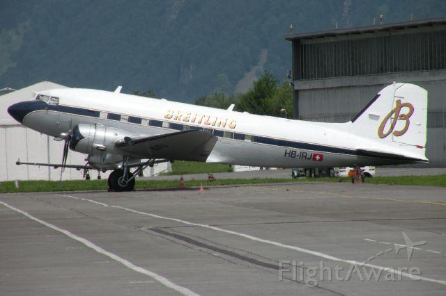 — — - Breitling Douglas DC-3 Dakota