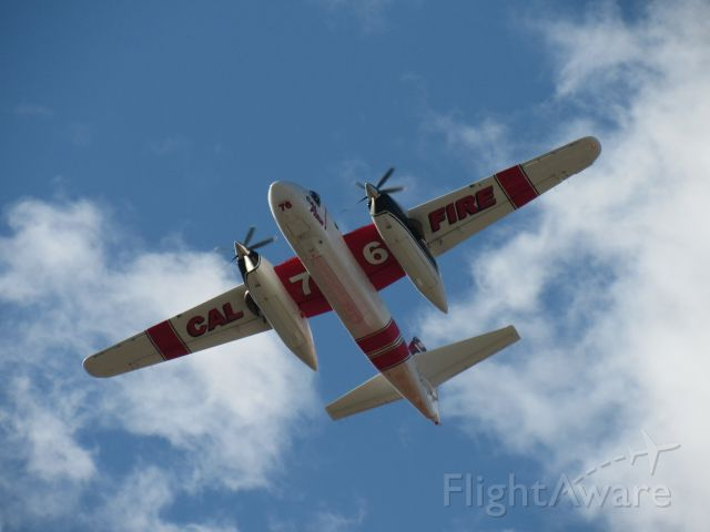 MARSH Turbo Tracker (N436DF) - N436DF flying over mid-field after a fire dispatch on July 3rd. This plane can hold up to 1,200 gallons of fire retardant.