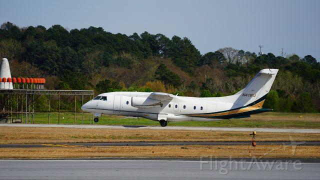 N411FJ — - Regular civilian aircraft activity at one of metro Atlanta's busiest airport.