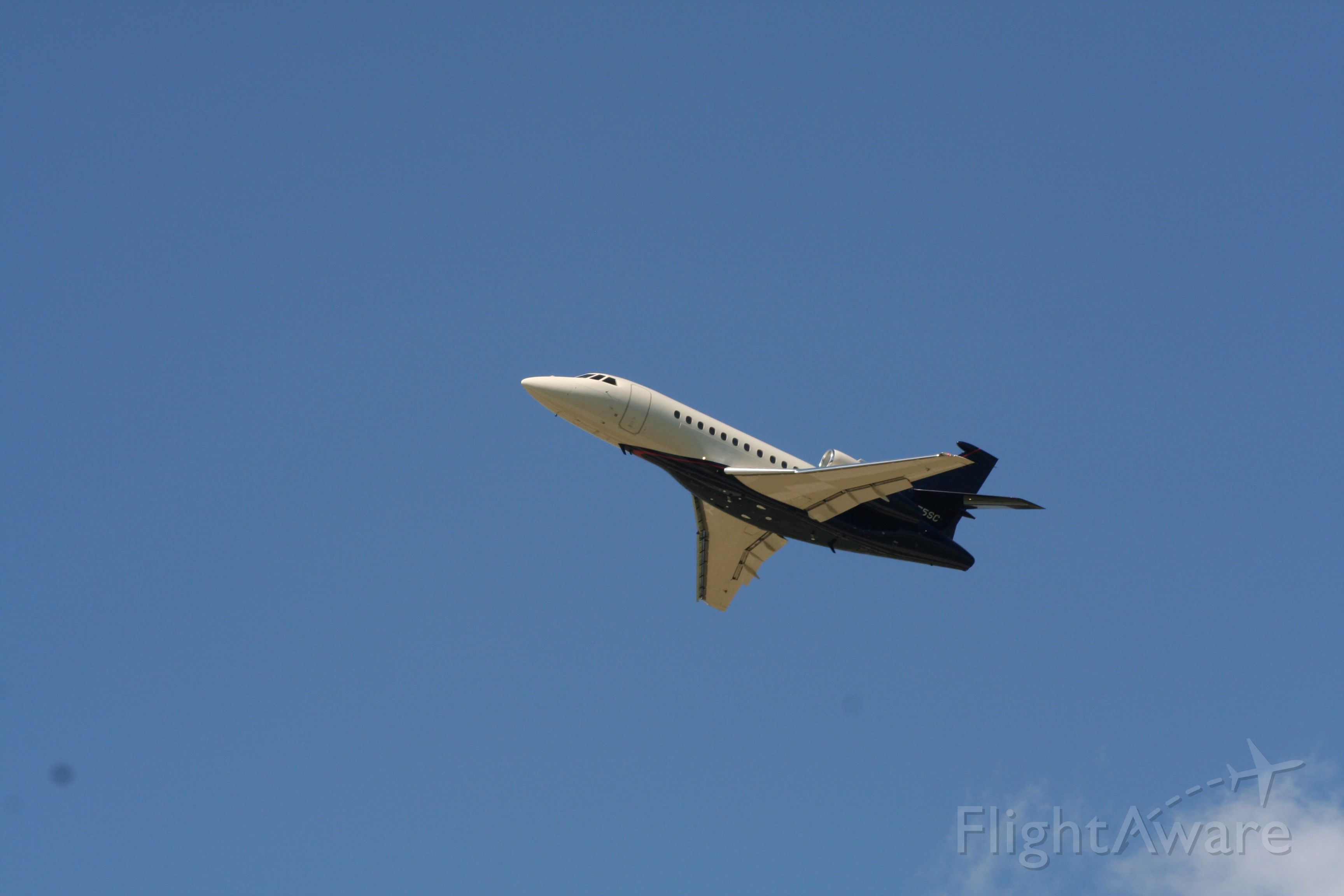 Dassault Falcon 20 (N375SC)