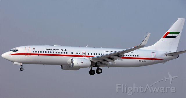 Boeing 737-700 (A6-AUH) - Landing in Abu Dhabi