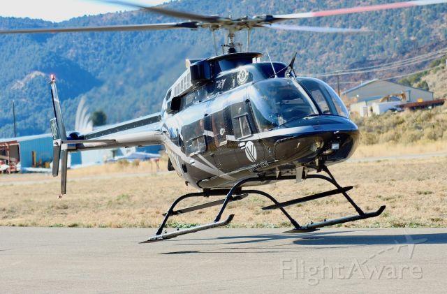 Bell 407 (N407CN) - Classic Air Medical's N407CN lands at the Glenwood Springs Municipal Airport.