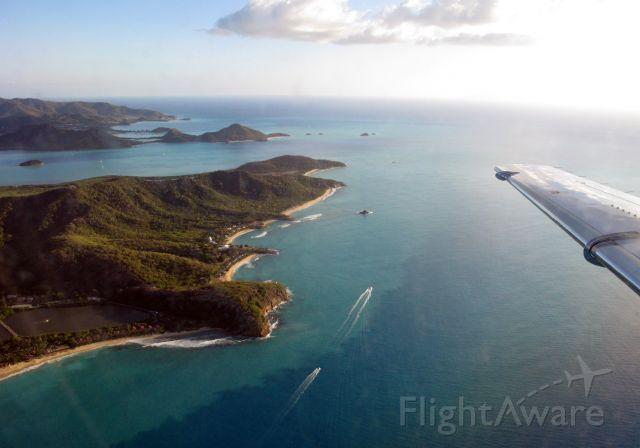 Cessna Citation Excel/XLS (N698QS) - Landing in Antigua