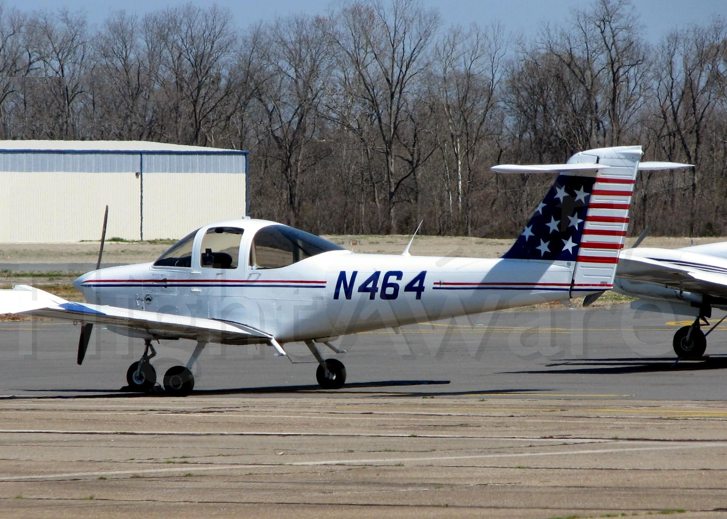 Piper Tomahawk (N464) - At Downtown Shreveport.