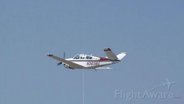 Beechcraft 35 Bonanza (N363BC) - Beechcraft Bonanza V-35B departing JXN