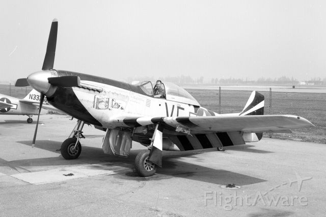 North American P-51 Mustang (N5441V) - Credit to Frank M.br /br /Uploaded with the ok from Robert Patterson.br /br /Taken sometime in the 60s (From what I was told)