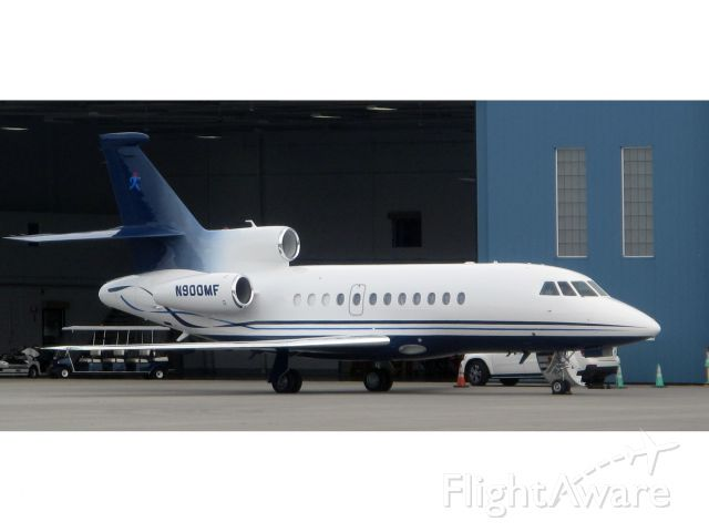 Dassault Falcon 900 (N900MF) - No location as per request of the aircraft owner.