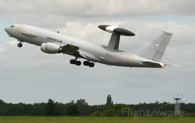 Boeing JE-3 Sentry (N702CA) - French Air Force Boing E-3F SDCA, Avord Air Base 702 (LFOA)  Air Show in june 2012